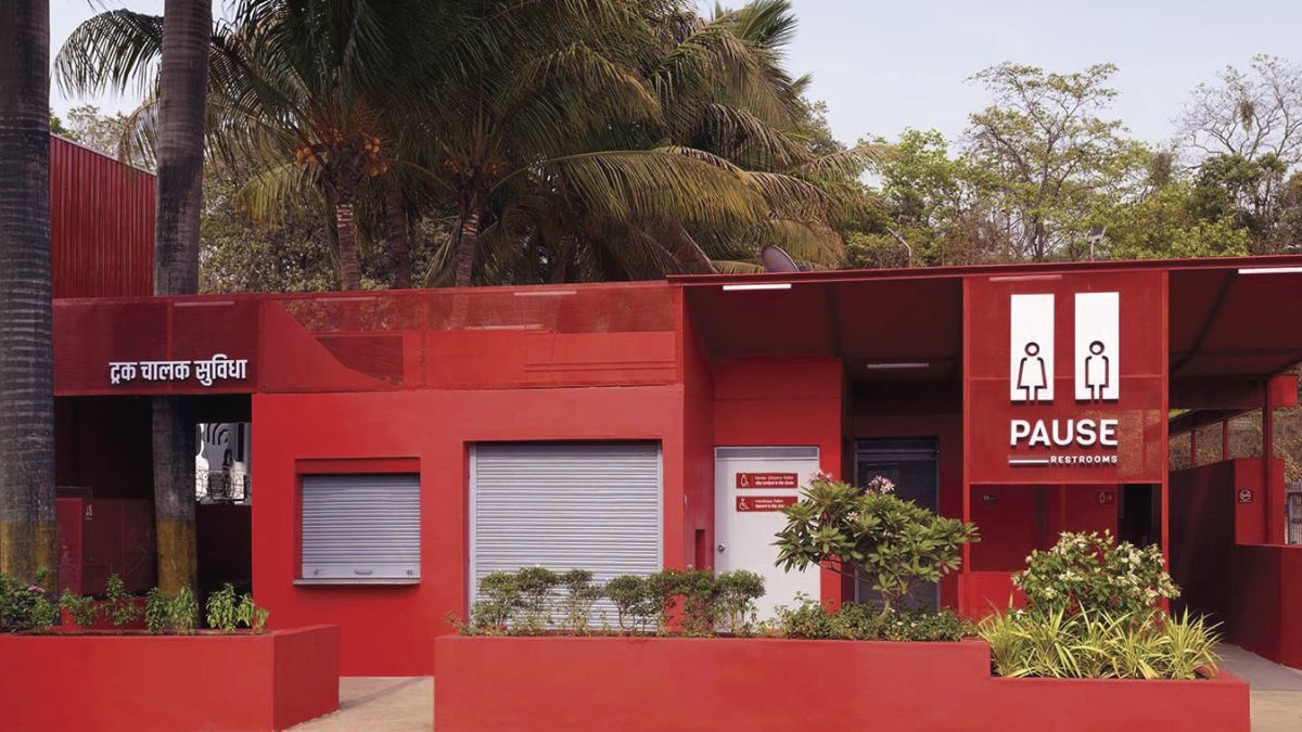 Pause - Restrooms, at Bombay-Goa Highway, by RC Architects