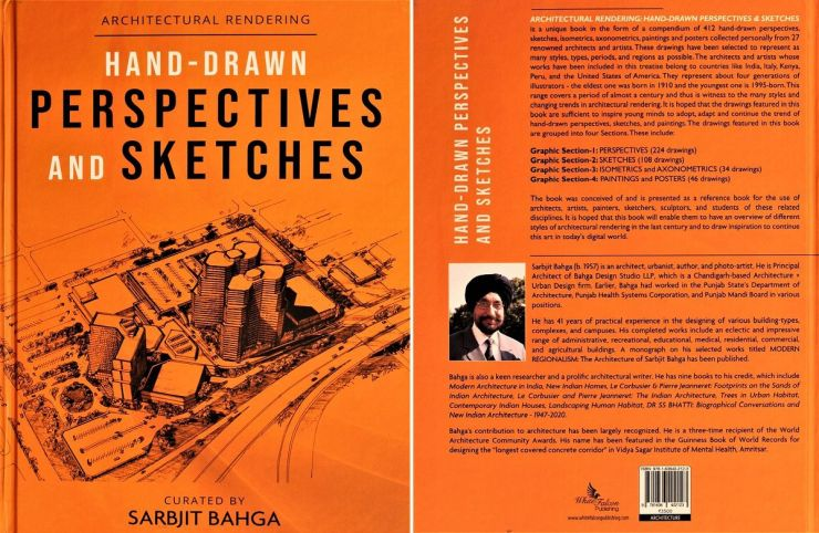 ARCHITECTURAL RENDERING: HAND-DRAWN PERSPECTIVES & SKETCHES - Book Review by Dr Pankaj Chhabra 2