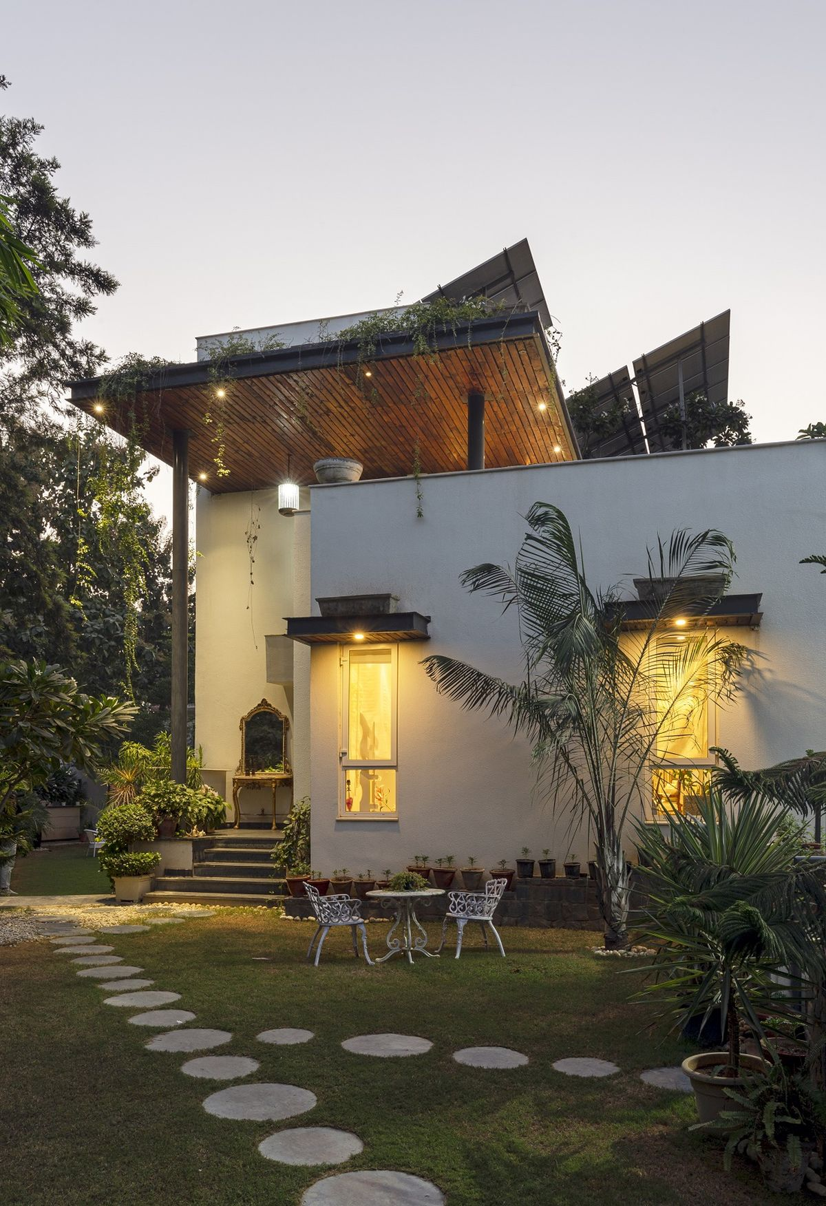 A House Surrounded by a Green Footprint | Ansal Villas, by RSDA 18