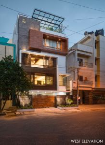 LOUVERED HOUSE, at Bangalore, by White Shadows Design Studio