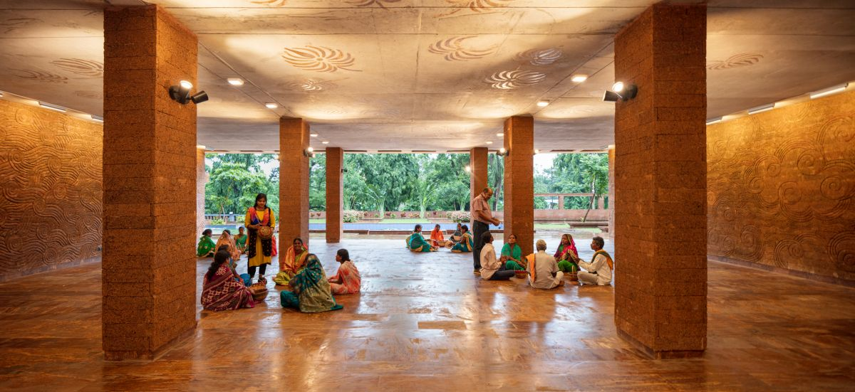 Krushi Bhawan   150 Local Artisans Come Together to Craft a Civic Building in India, by Studio Lotus 8