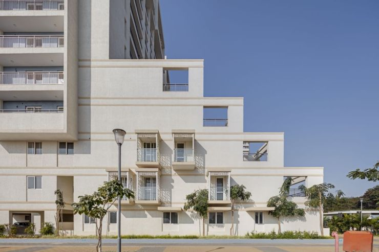 Terraced Residential Highrise, at Nallurhalli Road, Siddhapura, Bangalore, by CnT Architects 2