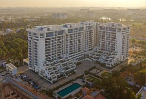 Terraced Residential Highrise, at Nallurhalli Road, Siddhapura, Bangalore, by CnT Architects