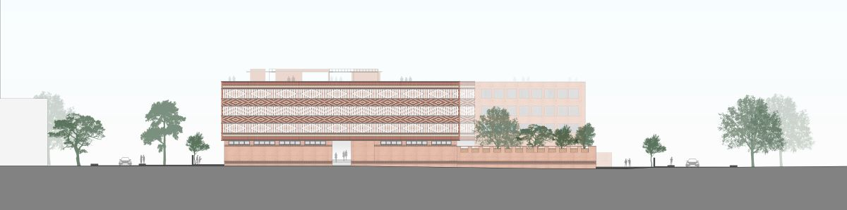 Krushi Bhawan   150 Local Artisans Come Together to Craft a Civic Building in India, by Studio Lotus 64