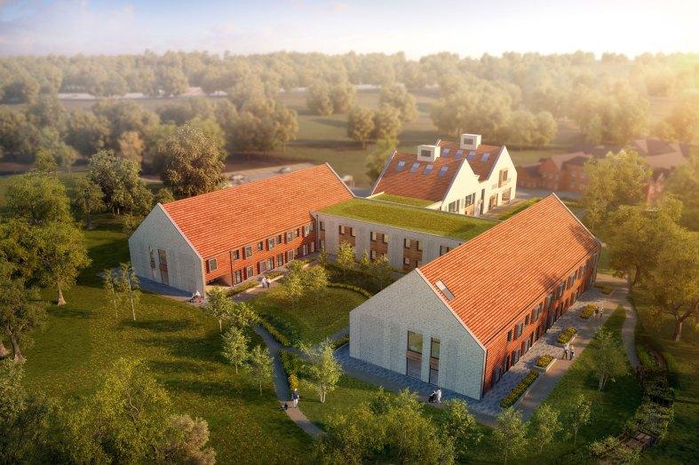 LOM design new Care and Rehabilitation Centre for QEF