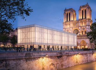 Gensler Unveils Design for Temporary Pavillon Notre-Dame