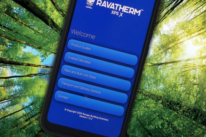 Thermal spotlight on Ravago app