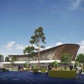 Aquatic arena - Design: VenhoevenCS & Ateliers 2/3/4/ Image: Proloog