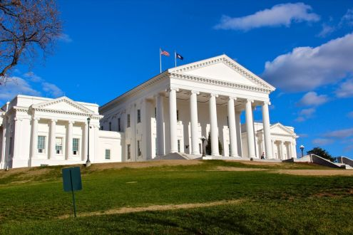 Image result for va state capitol