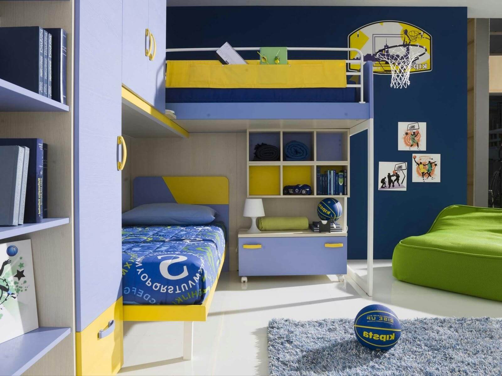 12 Inspirational Ideas For Decorating Basketball Themed
