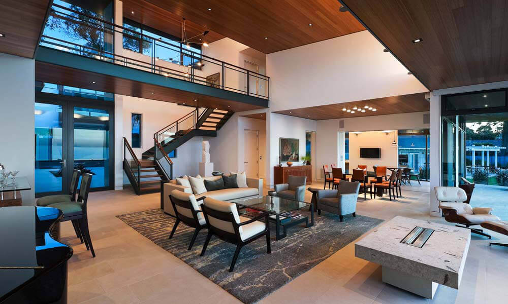Open House Design: Diverse Luxury Touches With Open Floor