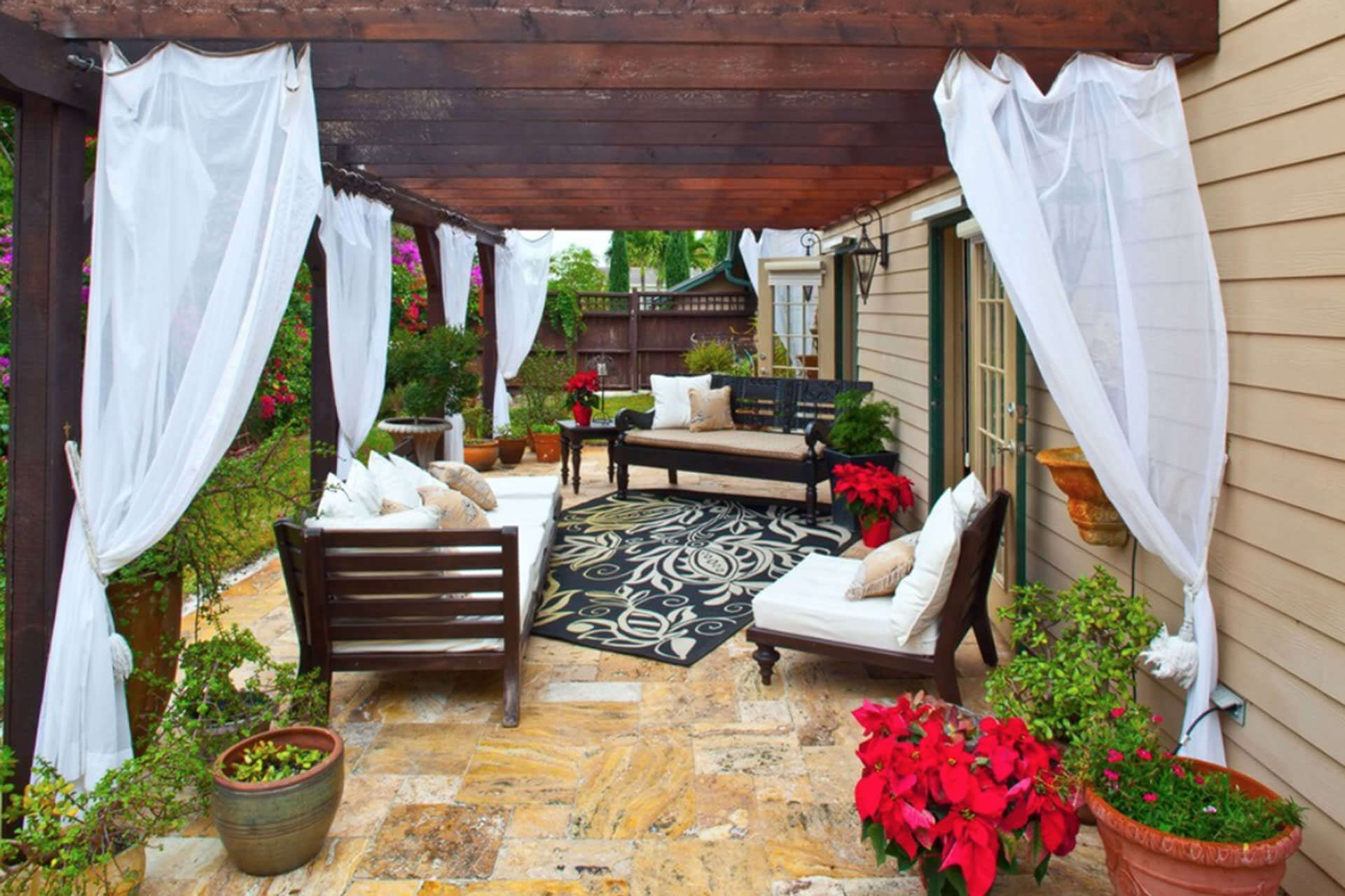 top 25 glorious outdoor curtains ideas