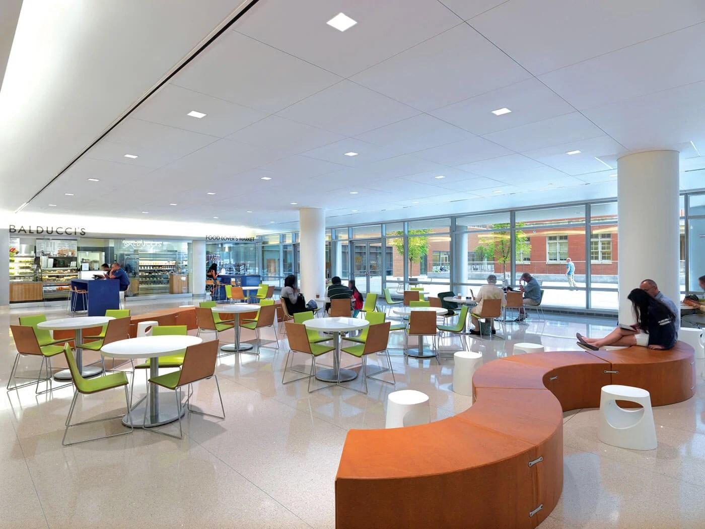 Modern Company Cafeteria Novocom Top
