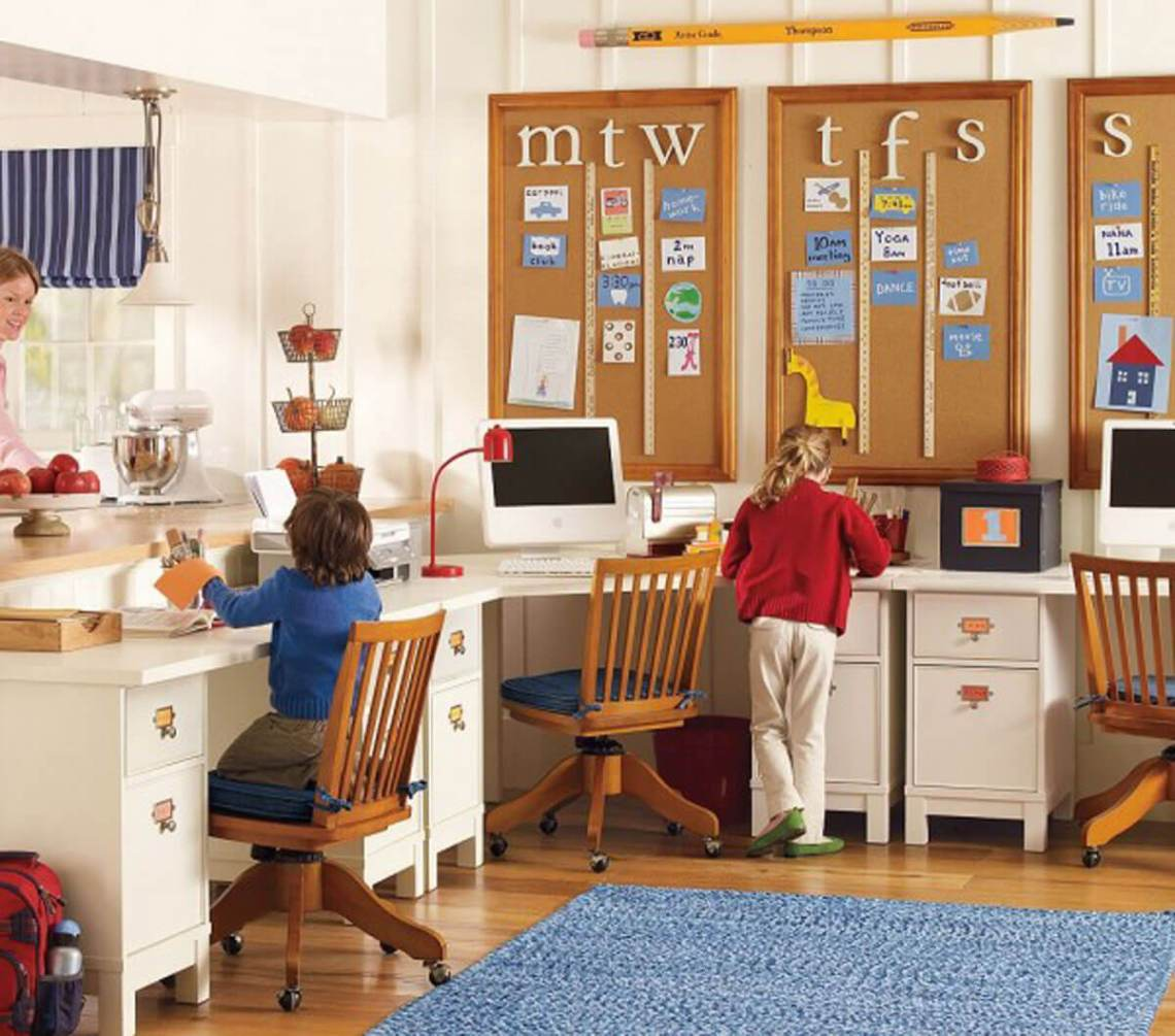 Kids Study Room Make Perfect Environment For Study