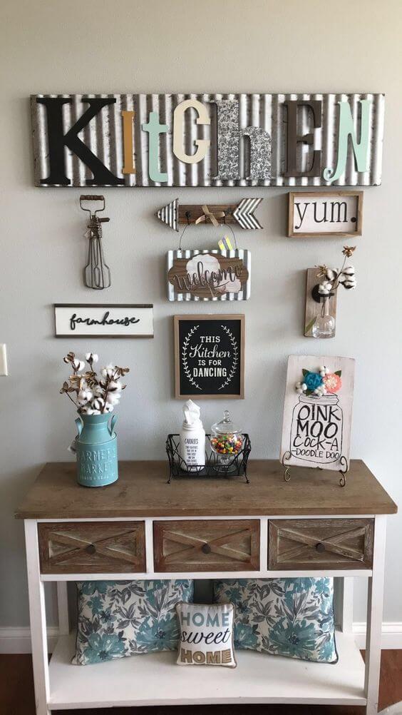 Diy Kitchen Wall Decor Ideas Novocom Top