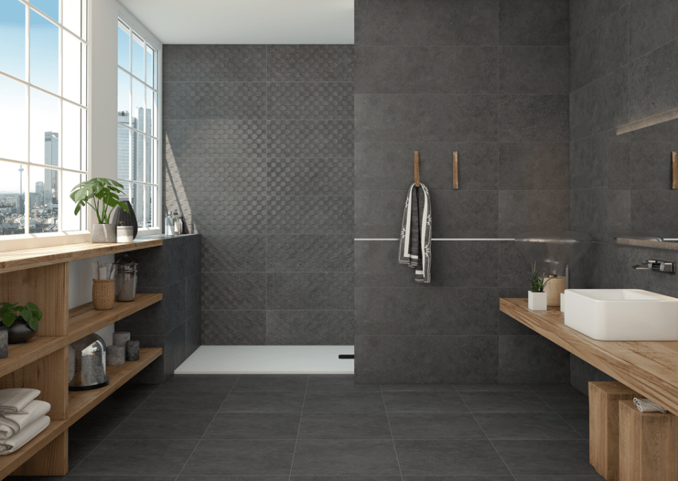 some mind-blowing gray bathroom ideas: check it out here