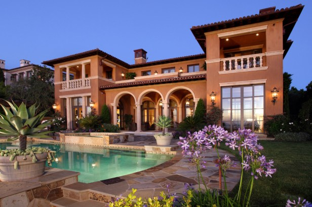 House in tuscan style