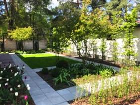 Projekt ogrodu prywatnego