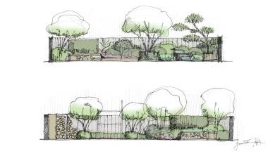 Projekt ogrodu prywatnego 07