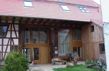 Umbau einer Scheune zum Wohnhaus – büro für architektur armin junger