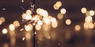 sztuczne ognie na nowy rok