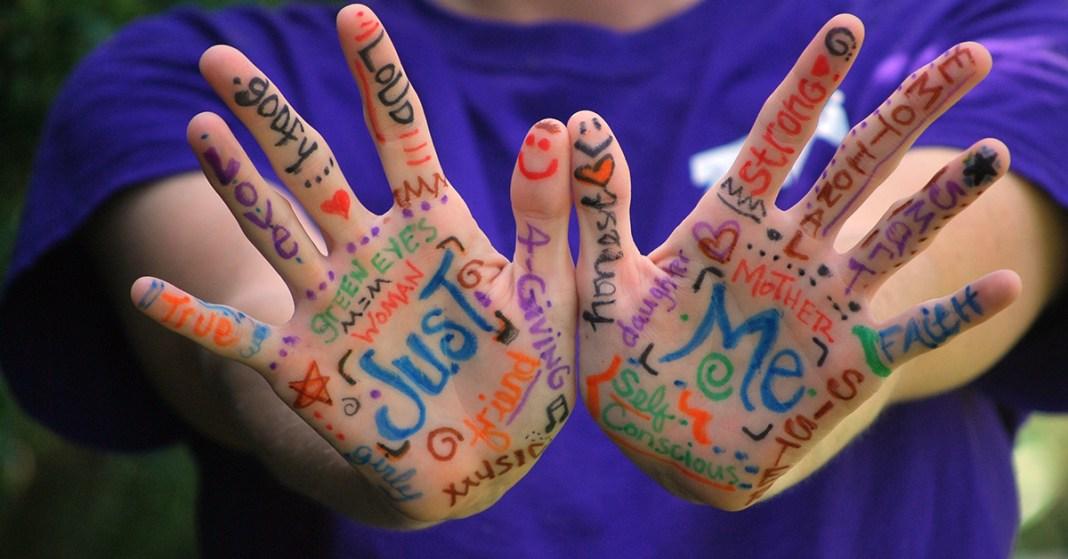 ręce i angielskie słówka
