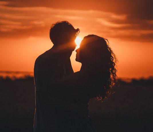 szczęśliwa i zakochana para