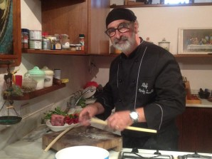 Andy Luotto cucina