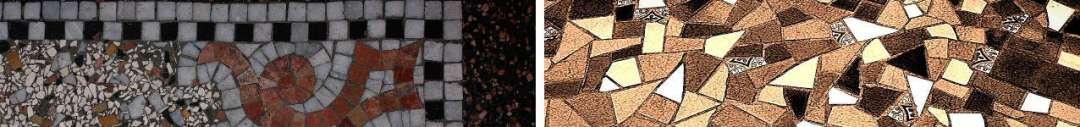 pavimento in graniglia semina veneziana palladiana anni 50 60