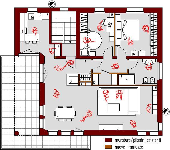 progetto-online-280-mq-cucina-penisola-planimetria-arredata-casa-indipendente-piano-primo