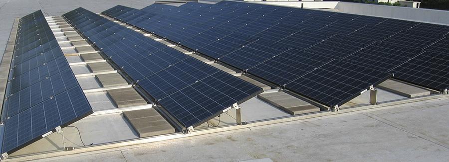 impianto fotovoltaico non integrato