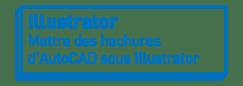 Illustrator | Mettre des hachures d'AutoCAD sous Illustrator