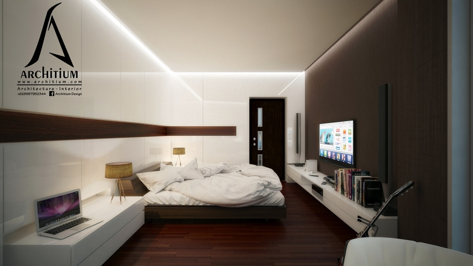Interior-Apartment-Jakarta-Regatta-Bedroom A 2
