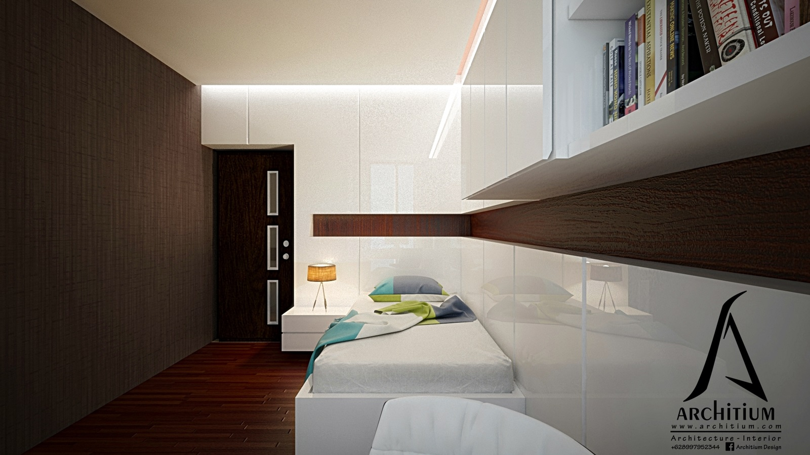 Interior-Apartment-Jakarta-Regatta-Bedroom B 1