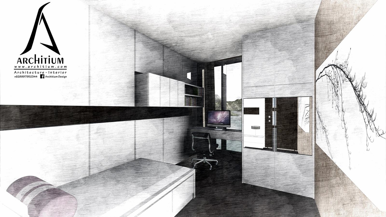 Interior-Apartment-Jakarta-Regatta-Bedroom B 2s