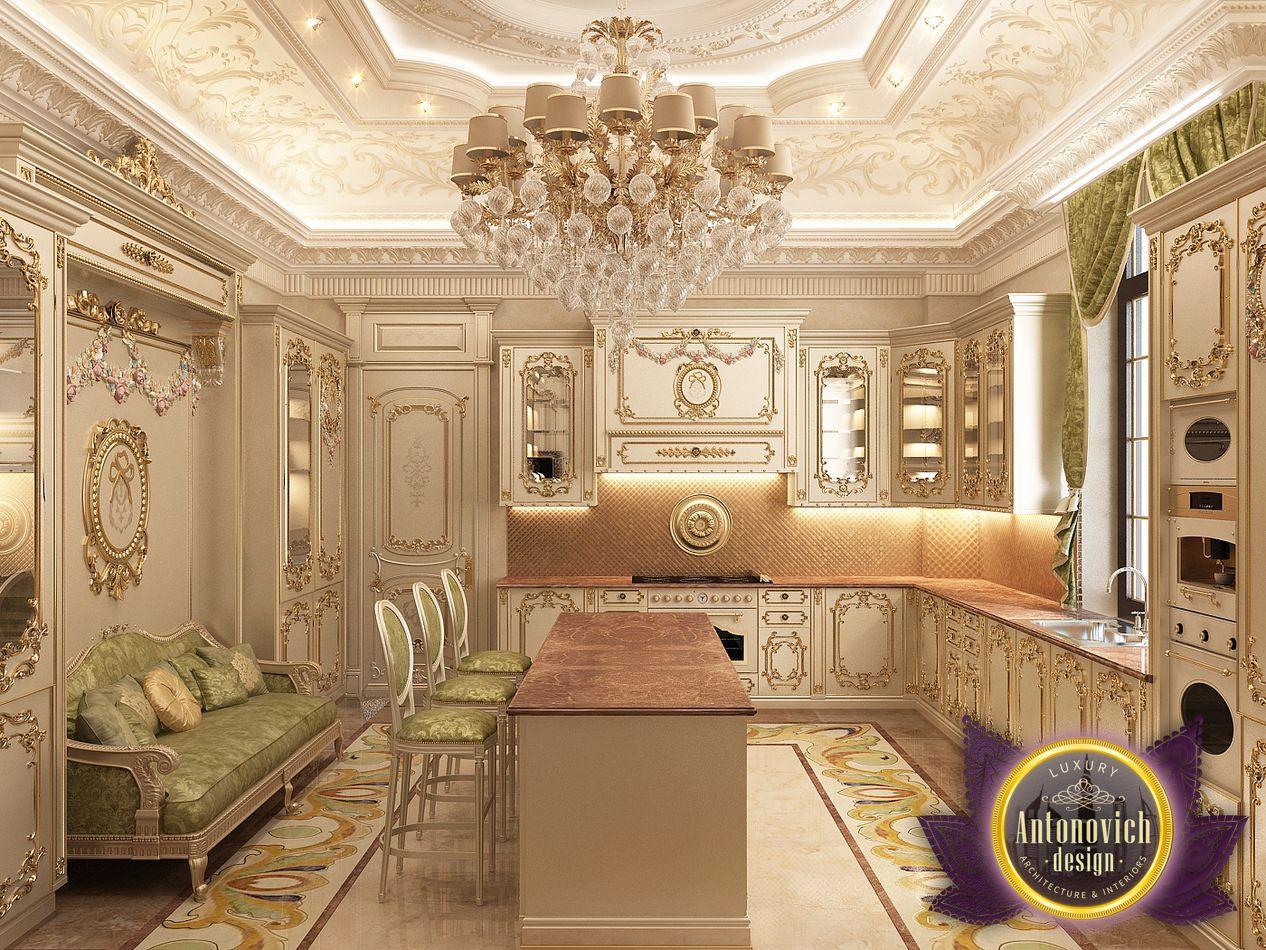 Kitchen Design From Luxury Antonovich Design Architizer