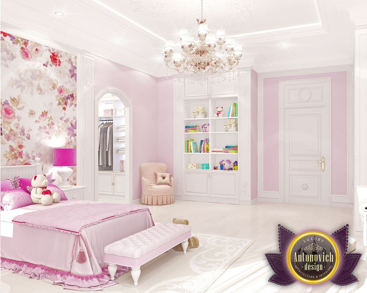 Children S Rooms Interior From Luxury Antonovich Design By Luxury Antonovich Design Architizer