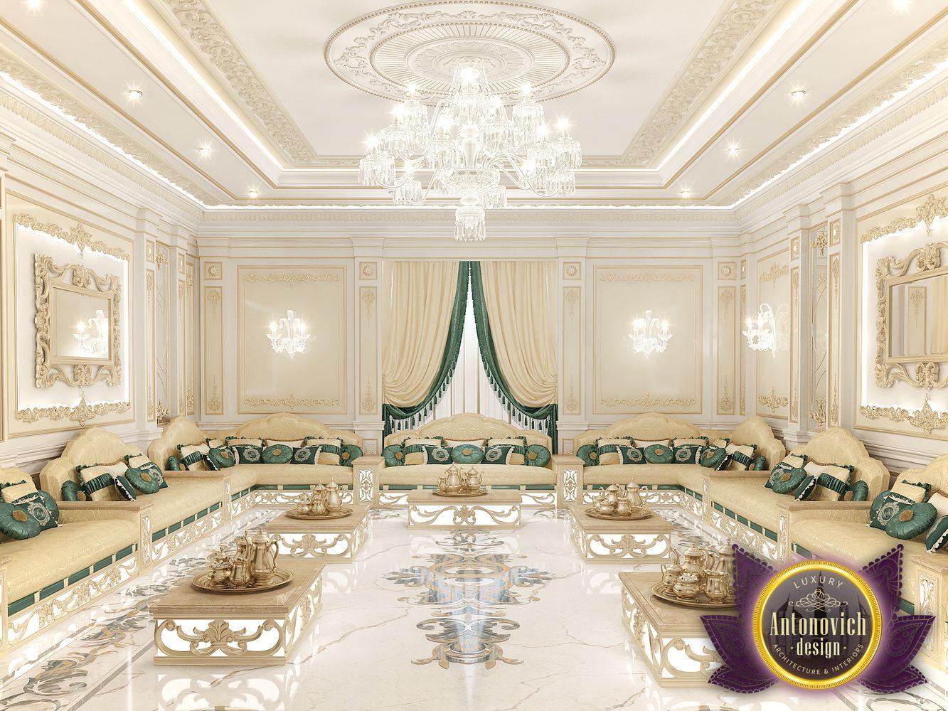 Arabic Majlis Interior Design From Luxury Antonovich Design Architizer
