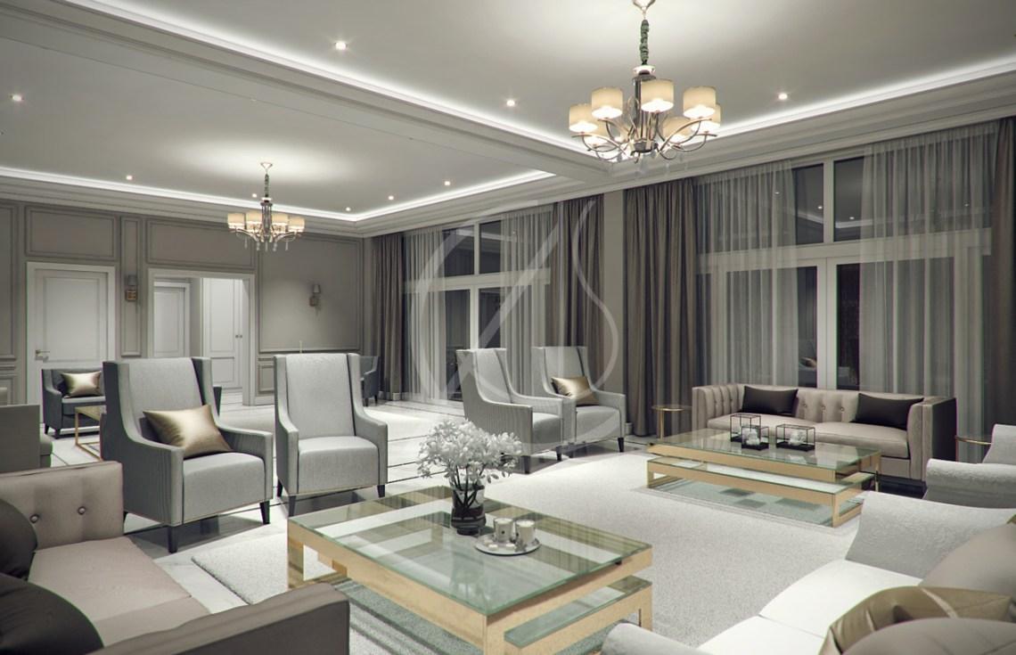 Modern Classic Villa Interior Design by Comelite ...