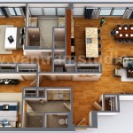 3d Floor Plan Rendering Apartment Design By Architectural Exterior Visualization Design Company Architizer
