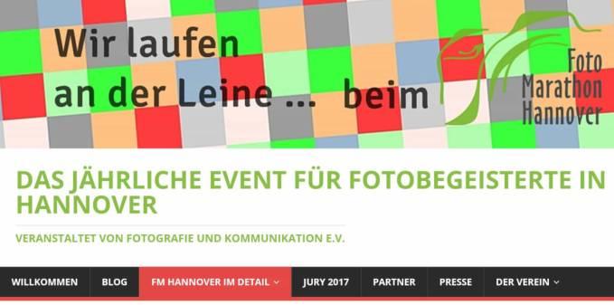 Fotomarathon Hannover Webseite