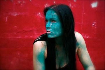 Farbenfroher Abend iin der Härterei: Tarja Turunen (zVg)