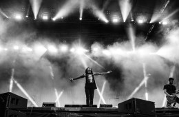 Bring Me The Horizon am Greenfield Festival 2016.