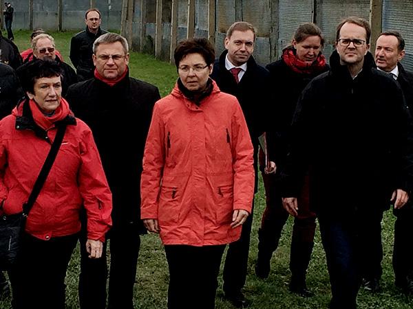 Mitglieder der SPD-Fraktionen aus Thüringen, Bayern und Sachsen