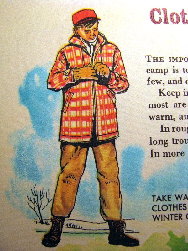 Little Golden Book of Camping and Camp Crafts