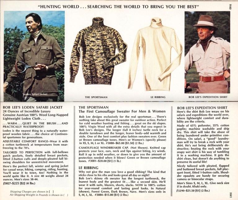 Hunting World catalog