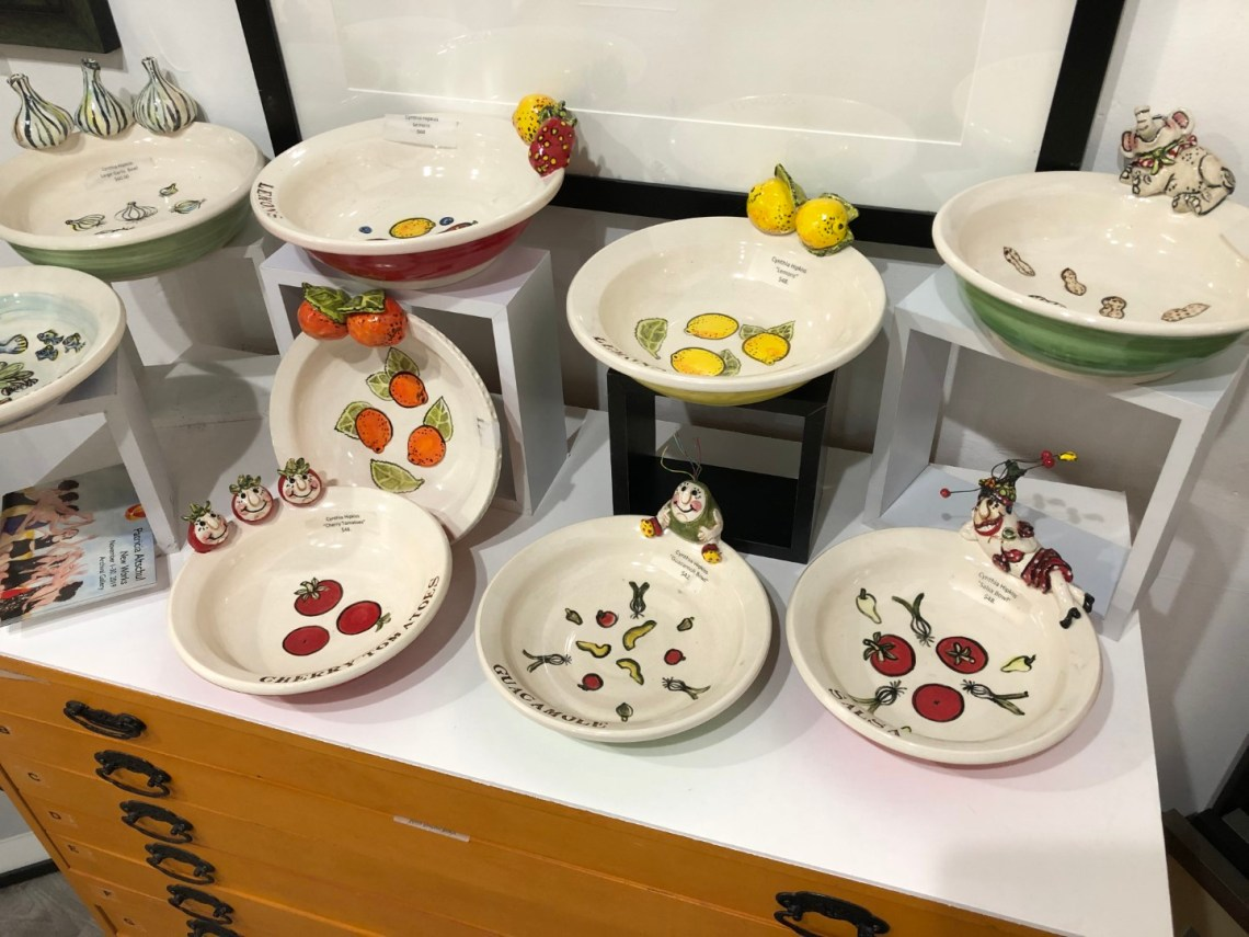 Assorted Bowls - Cynthia Hipkiss