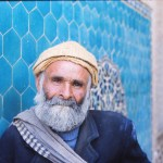 Old Man at a Mosque in Yazd