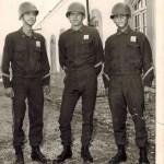 Three Soldiers at Eshrat Abad