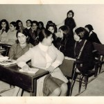 Maryam Savoji Girls' High School Classroom in Tehran